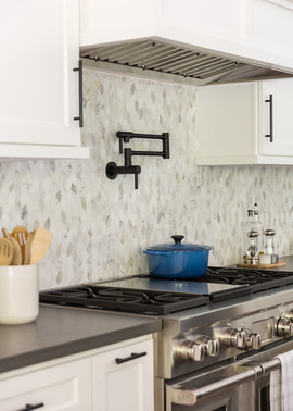 Backsplash Detail with Pot-filler