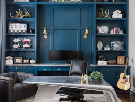 6 Interior Designs Ideas for a Home Office That Boost Productivity