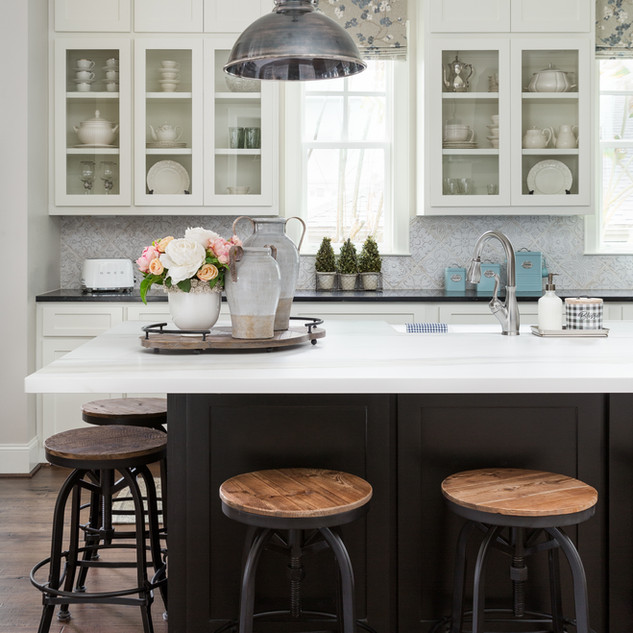 Southern Style Industrial Kitchen
