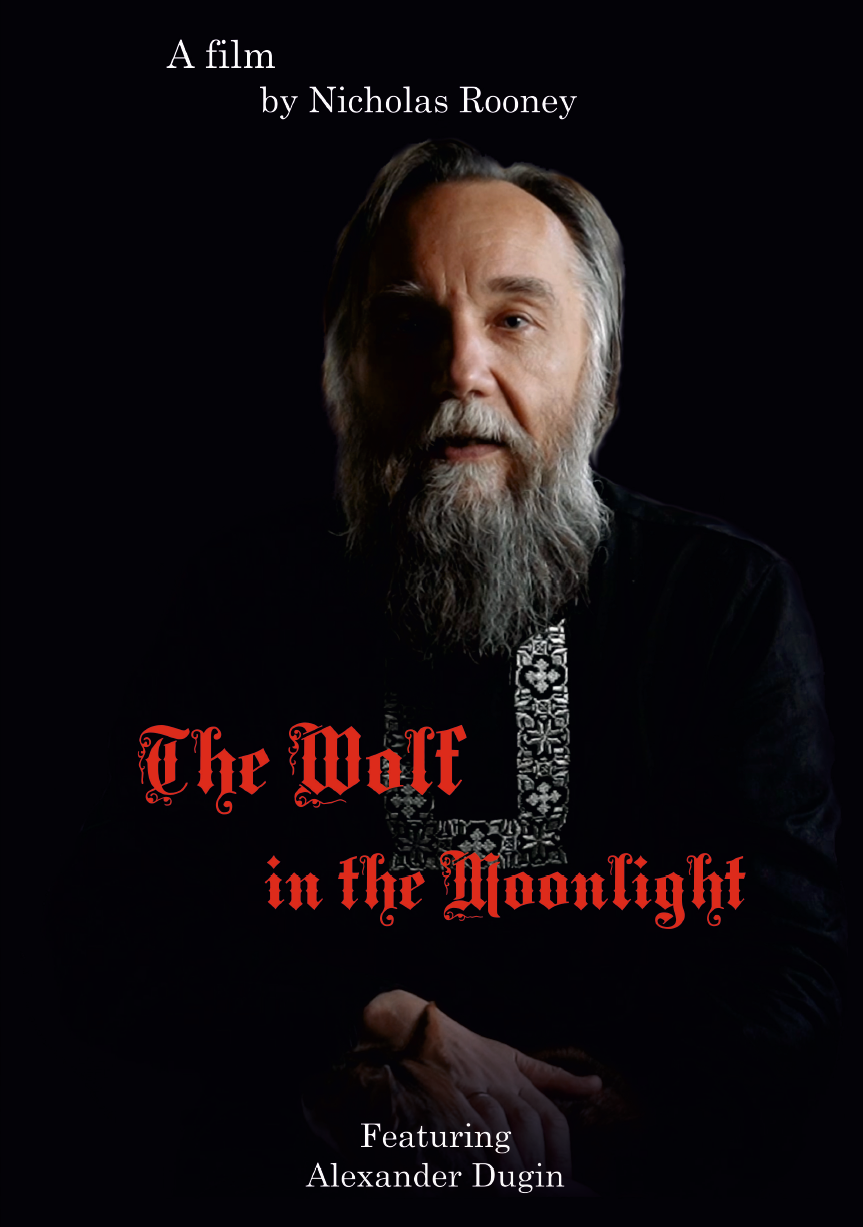 Poster of the film showing the subject of the film Alexander Dugin.