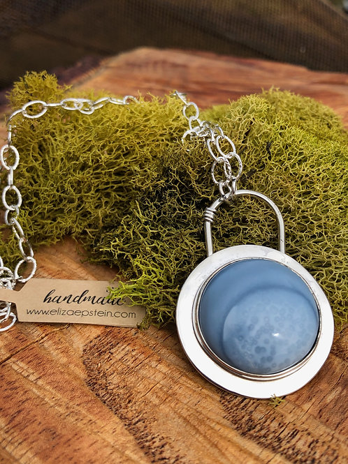 Blue Oregon Opal