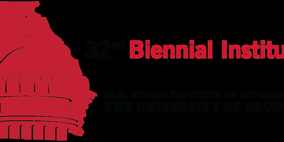 32nd Biennial for the Georgia Legislature
