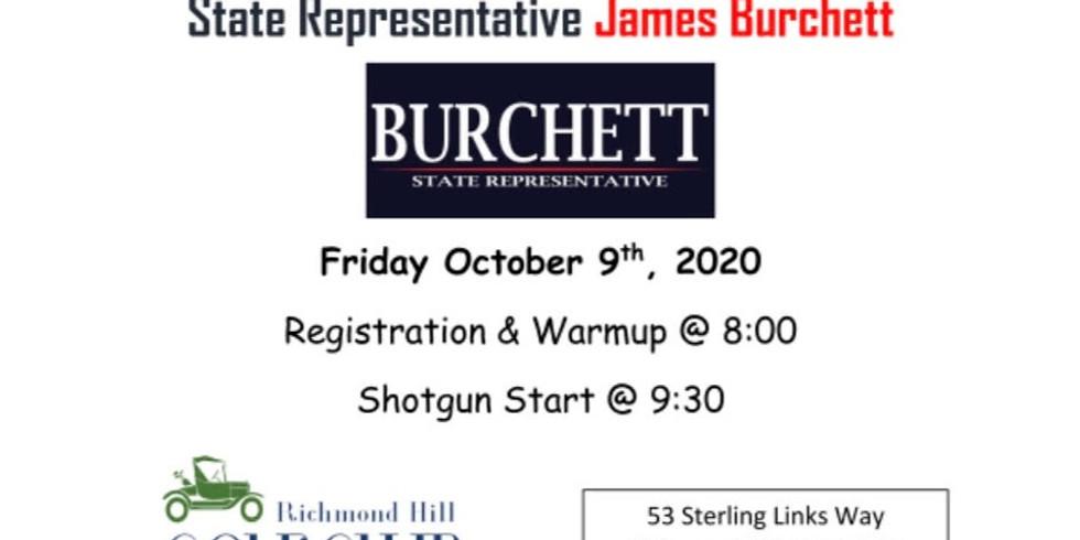 Golf Tournament for House Rep. James Burchett