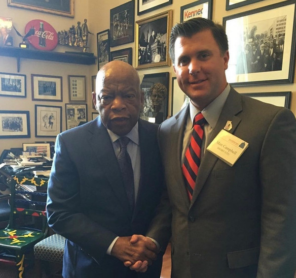 The late Congressman John Lewis