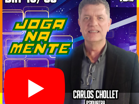 Recebemos o Dr. Carlos Chollet no Joga Na Mente