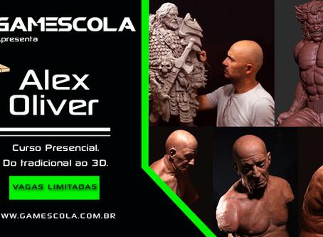 Curso Presencial de Modelagem com Alex Oliver - Do Tradicional ao 3D