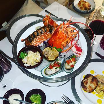 seafood plateau
