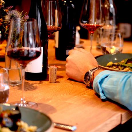 fine dining in der sauceria