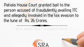 The Commissioner of GST vs M/s Anmol Traders Pvt. Ltd. Patiyala House Court (Read Order)