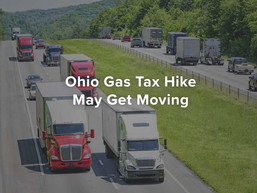 Ohio Gas Tax Hike May Get Moving