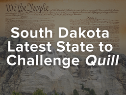 South Dakota Latest State to Challenge Quill