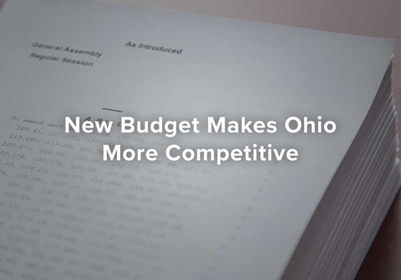 New Budget Makes Ohio More Competitive