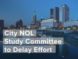 City NOL Study Committee to Delay Effort