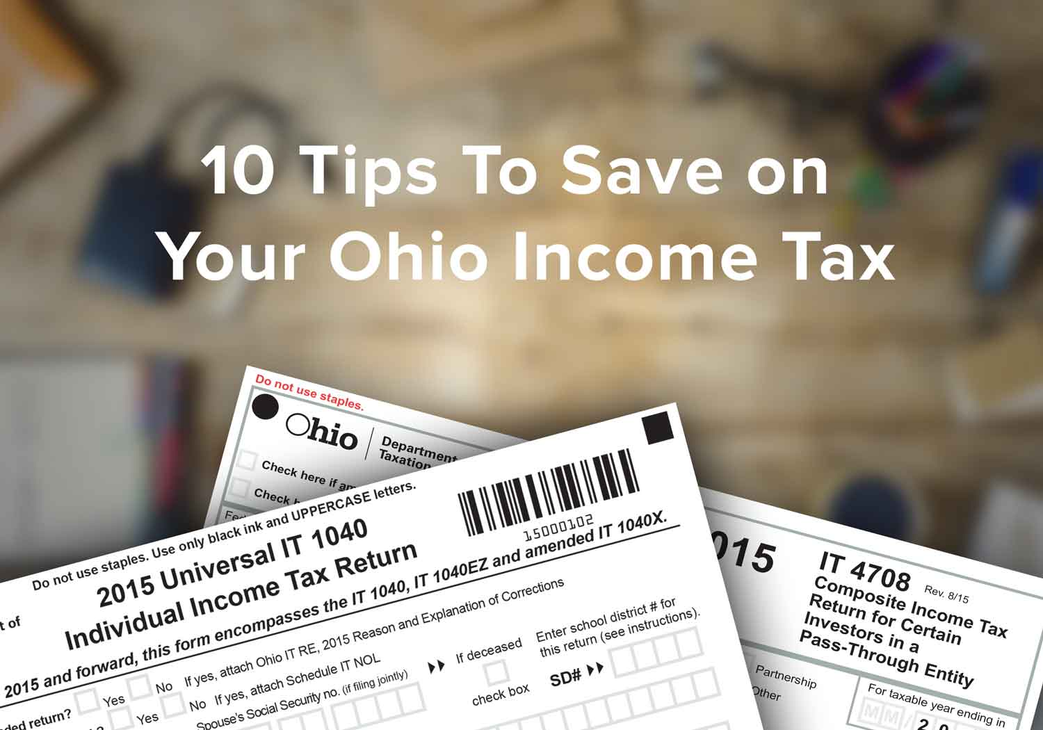 10 Tips To Save On Your Ohio Income Tax Tax Attorneys Tax Lawyer