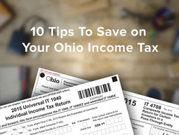 10 Tips to Save On Your Ohio Income Tax