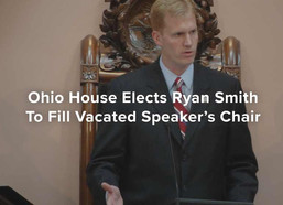 Ohio House Elects Ryan Smith To Fill Vacated Speaker's Chair