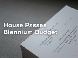 House Biennial Budget Bill Includes Many Tax Changes–Next Stop:  the Ohio Senate