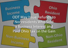 ODT May Issue Refunds to Nonresidents Who Sold a Business Interest and Paid Ohio Tax on the Gain