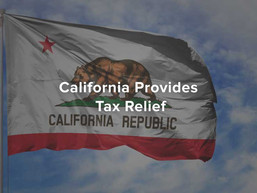 California Provides Tax Relief