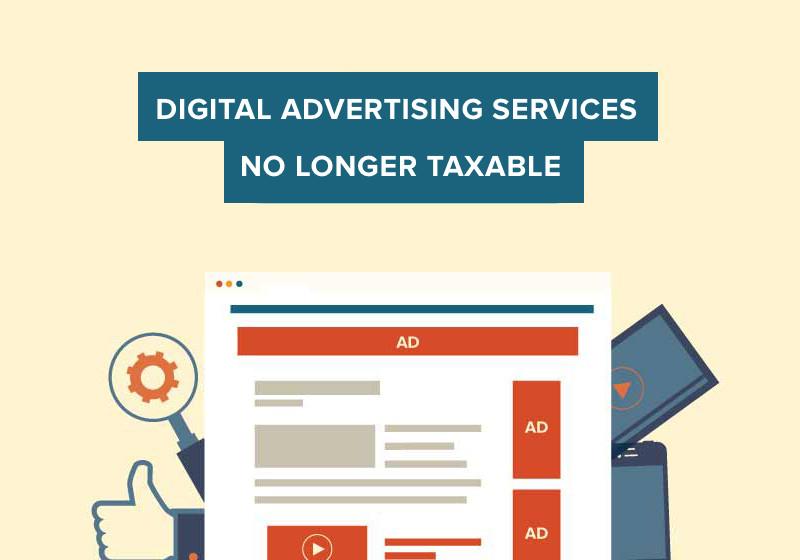 Digital Advertising Taxed No More