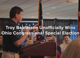 Troy Balderson Unofficially Wins Ohio Congressional Special Election