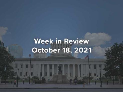 Week In Review - October 18, 2021