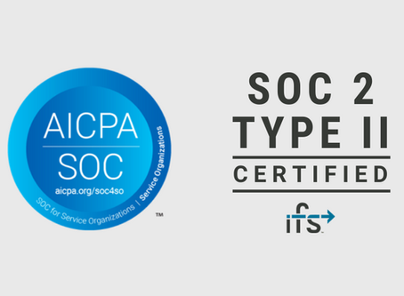 IFS Announces SOC 2 Type II Audit Certification