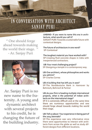 Designing the town RED! with Ar. Sanjay Puri