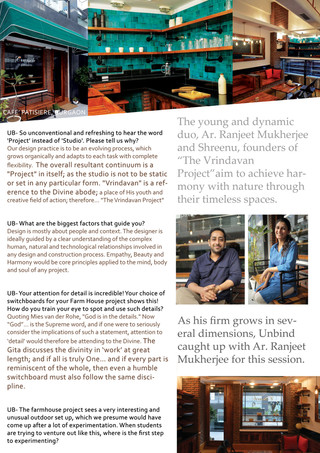 Designing the town RED! with Ar. Ranjeet Mukherjee