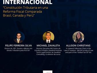II Conferencia Internacional Constitución Tributaria y Poder Tributario 2020: Brazil, Canadá y Perú