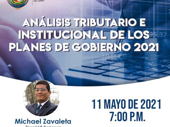 Tax and Institutional Anlysis of Government Public Choice 2021-2026: ZavaRod invited as speaker CCPL
