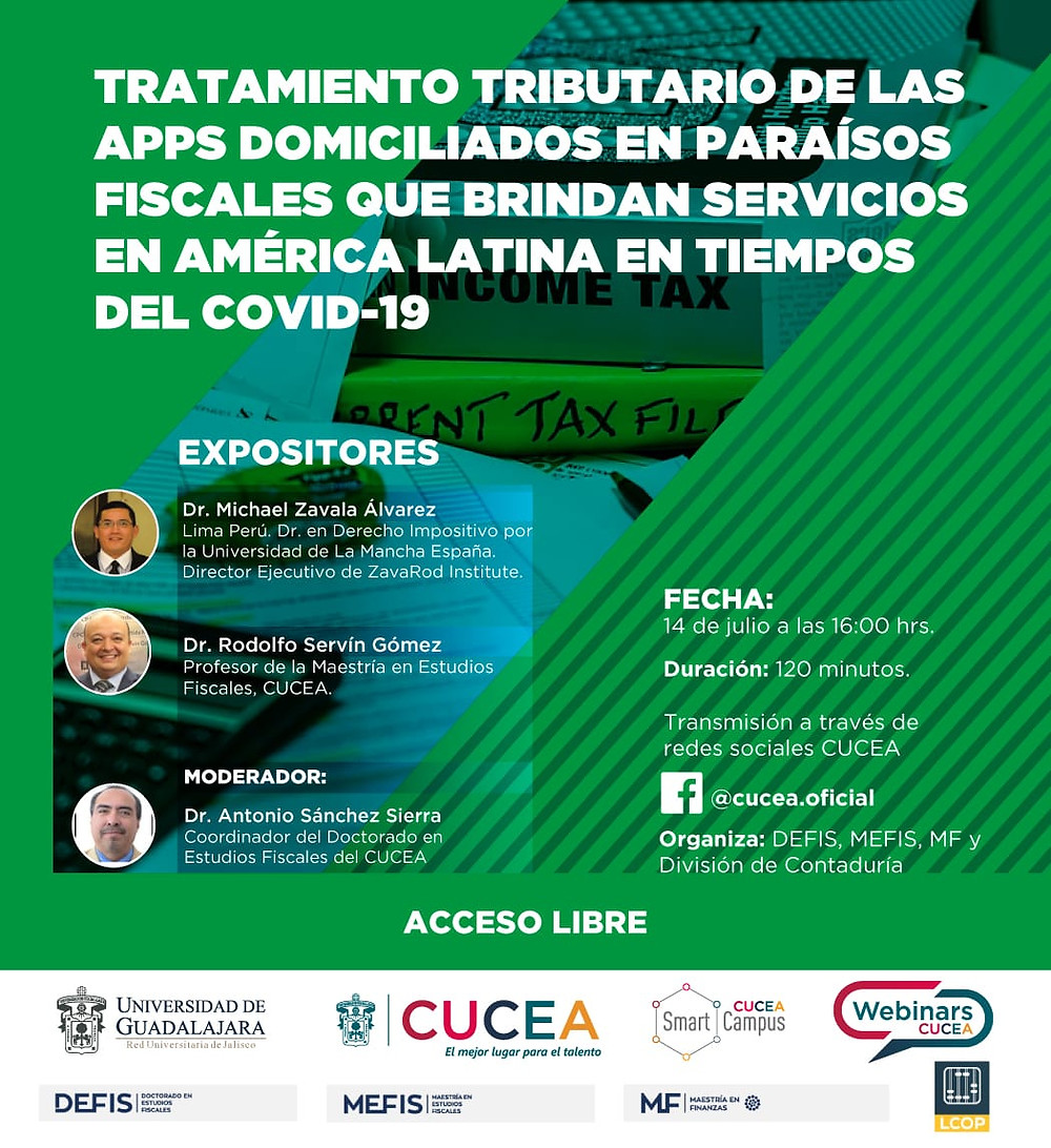 Tax Treatment of APPS Residents in Tax Havens that provide services in Latin America in Times of Covid-19