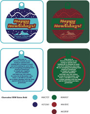 Furever Friends Holiday Promotional Cards