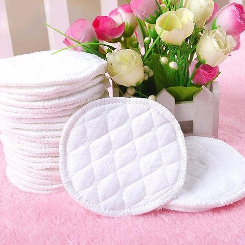 10pcs Cotton  Washable Nursing Pads