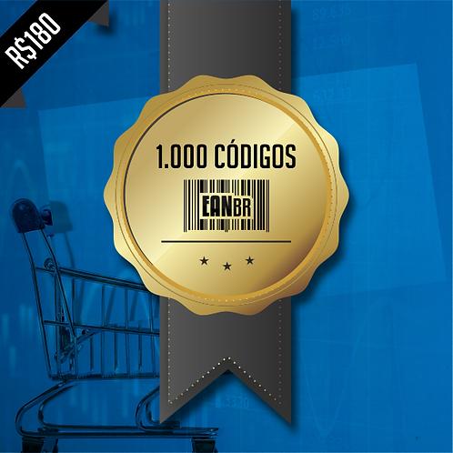 1.000 Códigos EANBR