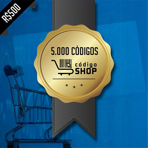5.000 Códigos