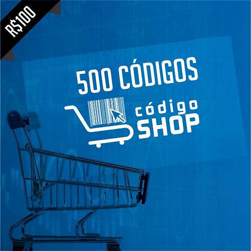 500 Códigos