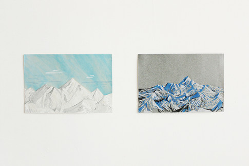 """""""Mountains Beyond Mountains"""" series / 2015 (ongoing)"""