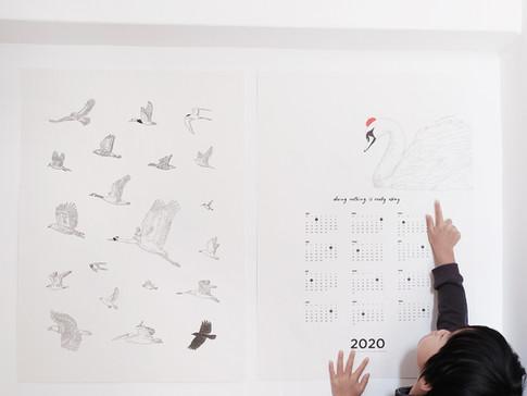 Calendar For Mums / 2019