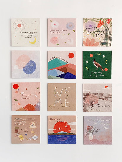 Something For Ourselves - Postcard Set of 12 (can be purchased individually)