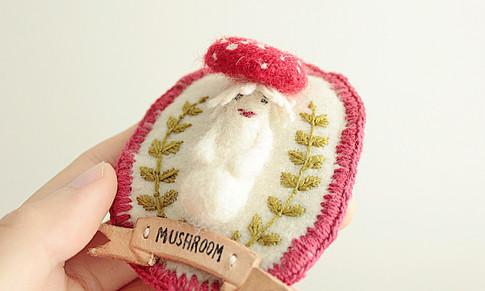 Mushroom Badge / 2013