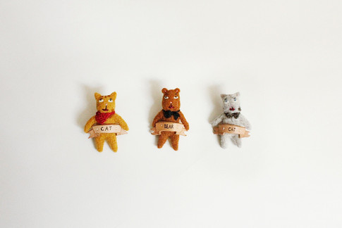 Uncle Animal Badges / 2015