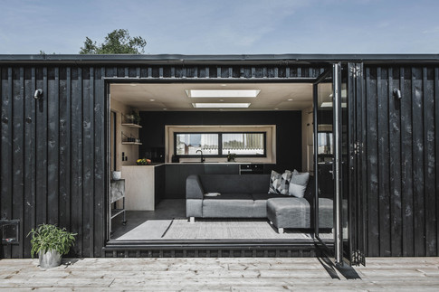 Ayr_Family_Cabin_Exterior_With_Wood_Cladding