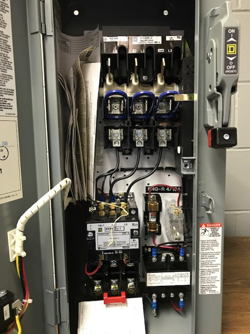 SQUARE D CLASS 8538 FUSED COMBINATION STARTER