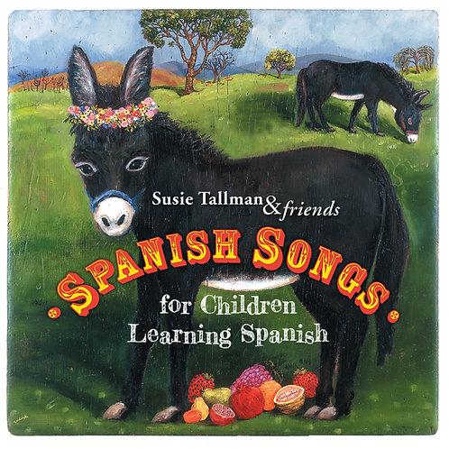 Spanish Songs for Children Learning Spanish CD