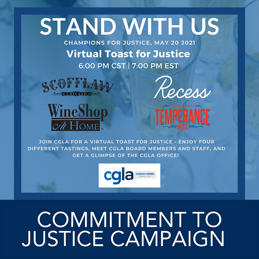 Virtual Toast for Justice