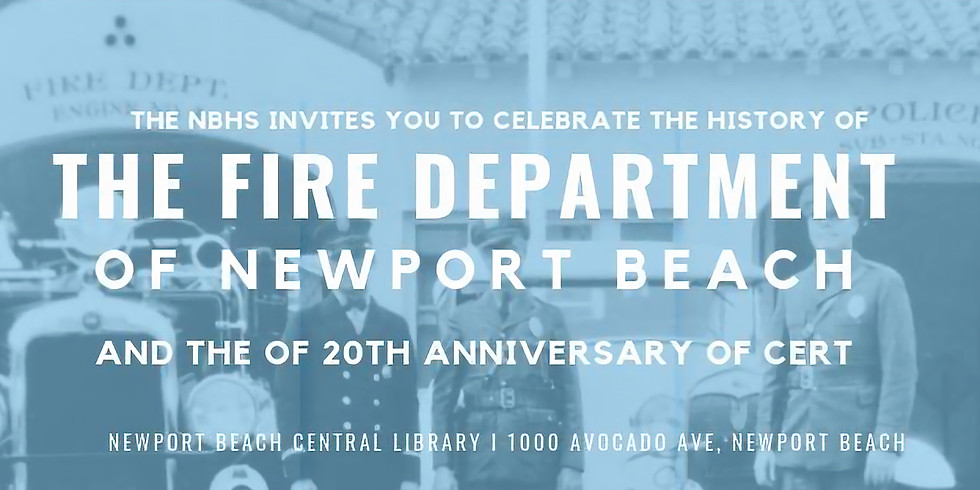 The History Of The Newport Beach Fire Department
