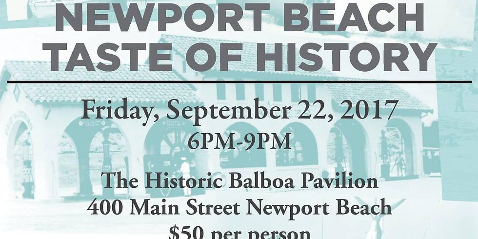 Newport Beach Taste of History - 50th Anniversary Fundraiser
