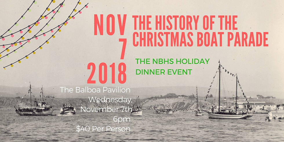 The History Of The Boat Parade Holiday Dinner Celebration