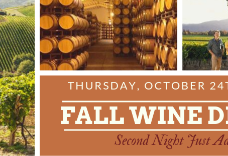 Barolo Cafe Fall Wine Dinner Announced